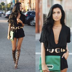 Racquel N. - Bold in Black