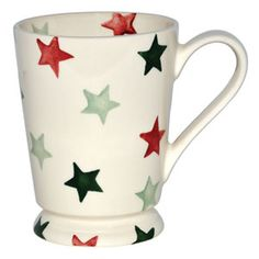 Christmas Star Cocoa Mug by Emma Bridgewater