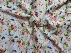 printed fine Cotton fabric  100% cotton  width - 44  quantity - 1 yard (Price for per yard)  Total yards available - 3 yards.  Color & print - As