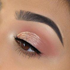 Makeup Eye Looks, Eye Makeup Tips, Glam Makeup, Makeup Inspo, Makeup Inspiration, Makeup Products, Makeup Geek, Bridal Makeup, Basic Eye Makeup