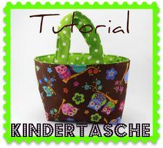 Atelier Vijfie - Mit Liebe gemacht: Nähanleitung - Kindertasche/ Osterkörbchen