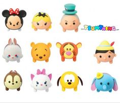 Disney Tsum Tsum Figural Key Rings - These foam key rings by Monogram International will be exclusively released in April 2016 to Hot Topic stores and will be available shortly after that at other retailers, including Entertainment Earth.