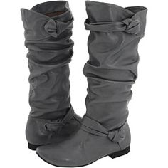 Kinda want some grey boots.  Thought these were really interesting...wonder if they would fit.