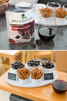 10 Useful Tips from @ZinaHarrington for Hosting a Chocolate & Wine Pairing Party with Brookside Chocolate