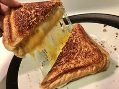 Perfect Grilled Cheese, Texas Toast, Tired, Grilling, Ethnic Recipes, Food, Crickets, Essen, Im Tired