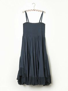 Free People Viscose Convertible Slip