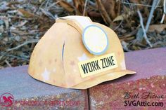 SVG Attic Blog: Construction Hat and Truck with Beth #svgattic