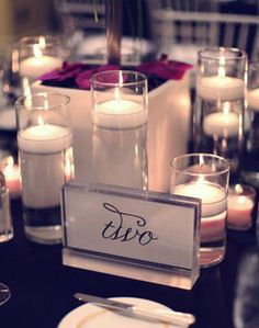 pretty table number