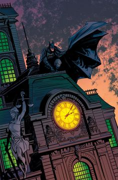 Batman by Yanick Paquette and colours by Kelsey