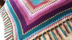 My 2015 Festival shawl. Created by my own fair hand :-)