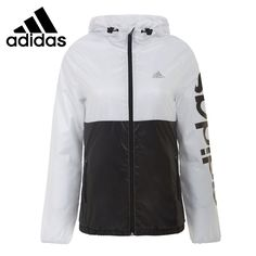 77.89$  Buy here - http://aizsg.worlditems.win/all/product.php?id=32605223388 - Original New Arrival   arrival Adidas women's jacket Hoodied Woven Patchwork sportswear