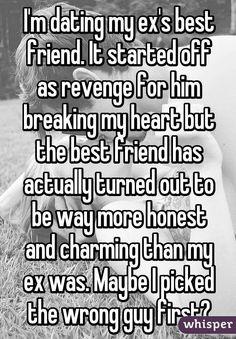 from Scott dating my ex friend yahoo
