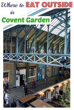 A YouTube vlog of Places to Eat in Covent Garden Outside