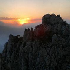 Amaneceres espectaculares desde la Serra de Bernia. Foto de Miquel Serrano Jiménez