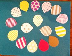 30 Piece Assorted Shape N Tape Tear Drops by creativedesigncorner, $4.75