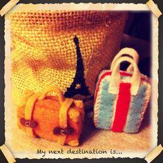 My next destination is...