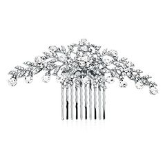 Mariell Glistening Rose Gold and Clear Crystal Petals Bridal Wedding or Prom Hair Comb Accessory ** Find out more about the great product at the image link. (This is an affiliate link) Bridal Comb, Wedding Headband, Metal Comb, Thing 1, Rose Gold Hair, Crystal Wedding, Wedding Hair Accessories, Hair Comb, Prom Hair