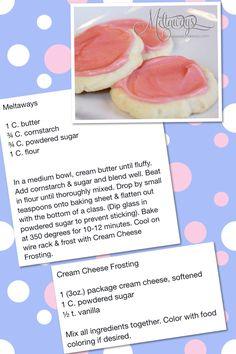 Meltaway sugar cookies