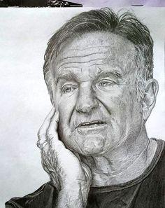 Robin Williams by docjohn