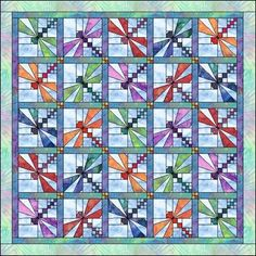 free dragonfly quilt patterns « Toadally Quilts – Quilt Patterns, Quilt Info, and more by Jen.98223