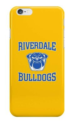 Our Riverdale Bulldogs Phone Case is available online now for just £5.99. Fan of the hit Netflix series, Riverdale? You'll love this Riverdale Bulldogs phone case, available for iPhone, iPod & Samsung models. Material: Plastic, Production Method: Printed, Authenticity: Unofficial, Weight: 28g, Thickness: 12mm, Colour Sides: Clear, Compatible With: iPhone 4/4s | iPhone 5/5s/SE | iPhone 5c | iPhone 6/6s | iPhone 7 | iPod 4th/5th Generation | Galaxy S4 | Galaxy S5 | Galaxy S6 | Galaxy S6