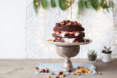 Chocolate spiced Christmas cake - Yuppiechef