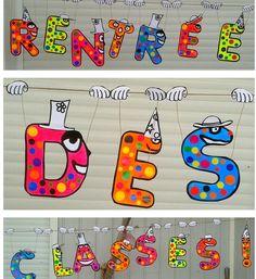 Back To School Activities, Preschool Activities, Petite Section, 1st Day, Cycle 3, Classroom Door, Elements Of Art, Art Projects, Teaching