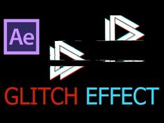 After Effects Glitch Tutorial - YouTube