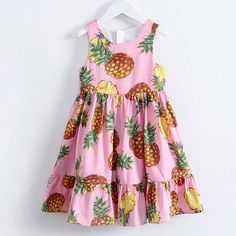 Now trending: Pineapple Print Sleeveless Girls Dress For 4-14 Years Shop Link in Bio. #dresses #kidswear #dress #kidsclothing #girlsclothing #toddler #mum #afterpay #afterpayobsession #sale #discount #bargain #onsale #afterpayislife