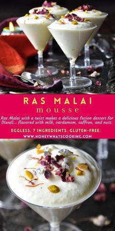 Indian Dessert Recipes, Indian Sweets, Indian Recipes, Pakistani Desserts, Diwali Food, Diwali Snacks, Eggless Desserts, Tandoori Masala, Fusion Food