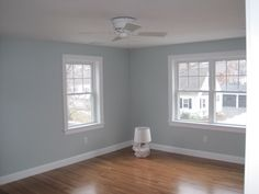 Woodlawn Blue paint color by Benjamin Moore
