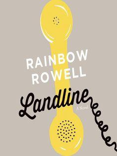 Available as an e-audiobook: Landline by Rainbow Rowell