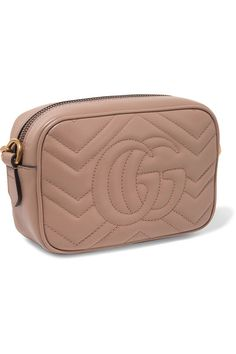 69eeda68a36 Gucci - Gg Marmont Camera Mini Quilted Leather Shoulder Bag - Blush