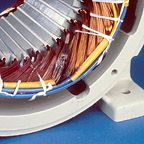 Typical Failures in Three-Phase Stator Windings Wind Damage, Electric Motor, Engine, Board, Motor Engine, Motorcycles