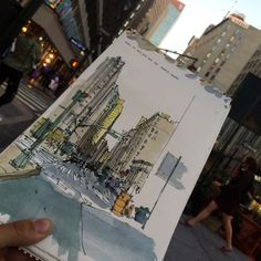a fresh drawing everyday day (NYC) | since october 2010, I´m posting a sketch per day
