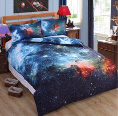 3D Abstract Zodiac Sky Planets Astrology Duvet Set Duvet Cover kids Bedding Set