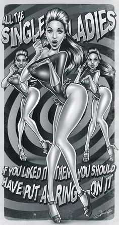 Beyonce by Renato Cunha.