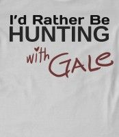 I love Hunger Games, but, see I like Peeta and Gale. But, I would LOVE to hunt with Gale. =)