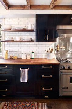 Dark Kitchen Inspiration #homegoals