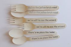 Wooden Forks - Wizard Of Oz