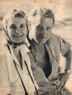 Joanne Woodward and Paul Newman, Israel Classic Actresses, Actors & Actresses, Classic Hollywood, Old Hollywood, Paul Newman Joanne Woodward, Connie Stevens, Hollywood Couples, Humphrey Bogart, Classy Men