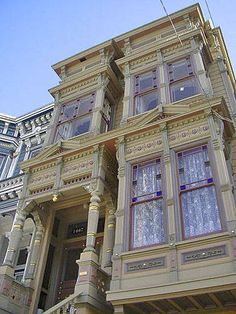 San Francisco painted lady