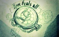 tattoos on pinterest sugar skull tattoos lion tattoo and time heals. Black Bedroom Furniture Sets. Home Design Ideas