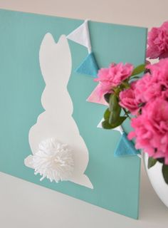 Pentart dekor: Last minute húsvéti nyuszi