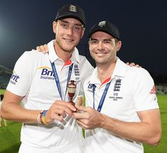 The best cricket photos from across the world Test Cricket, Cricket News, England Cricket Team, Stuart Broad, James Anderson, V Australia, Cricket World Cup, World Football, August 25