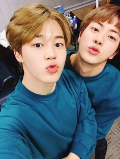 Jin and jimin bts @arillys