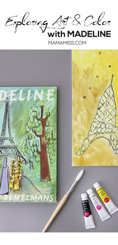 Have you every opened your favorite book and just stared at the illustrations? Today we are doing just that - we're Exploring Art and Color with Madeline - a Virtual Book Club Selection from @mamamissblog
