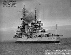 USS Salt Lake City, Feb 1941.
