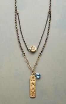 You'll love the free-spirited, sunny charm of this beguiling, London blue topaz pendant necklace.