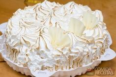 Receita de Bolo mousse de doce de leite em receitas de bolos, veja essa e outras receitas aqui!